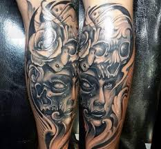 calf tattoos tattoo collections
