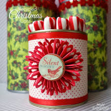 blissful roots diy recycled christmas tin cans twelveoeight