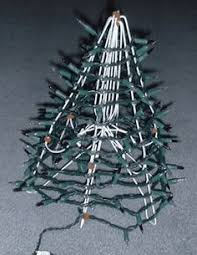 wire christmas tree with lights hanger christmas tree craft mini christmas tree light garland and