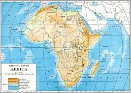 africa map map africa maps