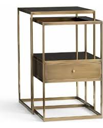 pottery barn bedside table amazing deal on pottery barn bexley nesting bedside tables