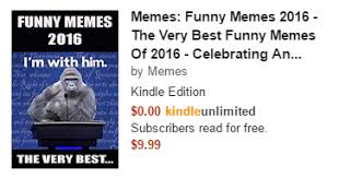 Meme Books - the official holiday guide to meme books