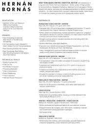 Narrative Resume Resume U2014 Hernán Bornás