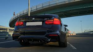Bmw M3 Back - bmw f80 m3 sedan w armytrix cat back exhaust by vc tuning in