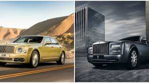 1930s phantom car updated bentley mulsanne emerges as rolls royce prepares the