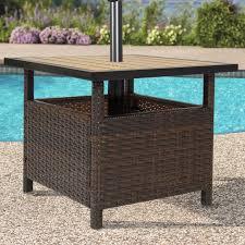 patio furniture deck patio umbrellac2a0 umbrella stand wicker