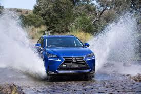 lexus suv blue driving impression lexus nx