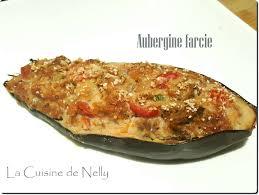 cuisiner aubergine four aubergine farcie à la chair à saucisses parfumée de curry et