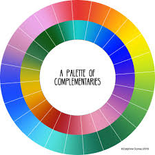 color for 2016 a modern approach to complementaries le lapin dans la lune