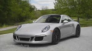porsche 911 price 2016 motorweek road test 2015 porsche 911 carrera 4 gts coupe youtube