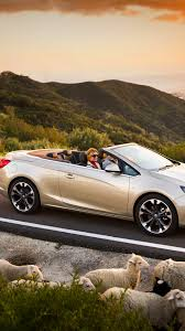 opel cascada download wallpaper 1080x1920 opel cascada cars sheep road