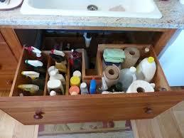 Under Kitchen Sink Cabinet Kitchen Sink Cabinet Organizer Victoriaentrelassombras Com