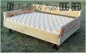How To Make A Platform Bed With Pallets by 19 Wooden Dog Beds To Create For Your Furry Four Legged Friends