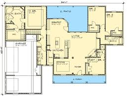 country open floor plans country home with open floor plan 36823jg architectural