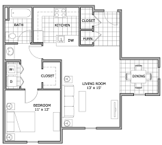one bedroom floor plan 1 bed 1 bath apartment in springfield mo the abbey apartments