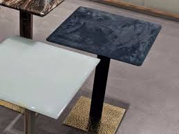 square leather coffee table yaki leather coffee table loveluxe collection by longhi design