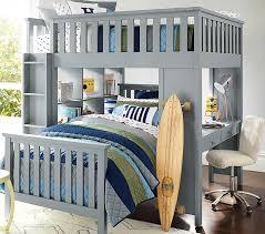 elliott full loft system u0026 twin bed set pottery barn kids