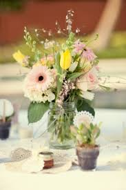 Mason Jar Floral Centerpieces 97 Best Flowers I Love Images On Pinterest Flowers Marriage And