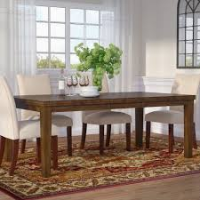 rebecca extendable dining table u0026 reviews allmodern