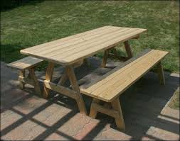 Poly Picnic Tables by Great Teak Picnic Table Outdoor Pine Teak Or Poly Picnic Tables
