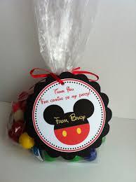 mickey mouse party favors mickey mouse party favor bags by sweetdesignsbyregan on etsy