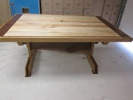 Kitchen Table With Leaves Spalted Maple Oak Walnut Slab By - Maple kitchen table