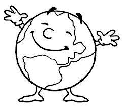 15 earth coloring pages images earth