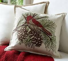 Christmas Pillows Pottery Barn 85 Best Decorative Pillows Images On Pinterest Pillow Talk