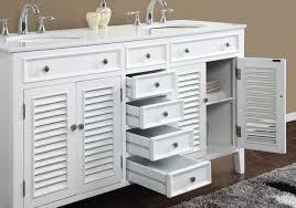 16 Inch Bathroom Vanity by 60 Inch Double Sink Vanity N1128 60w