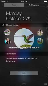 news widgets for android try opera coast app on your iphone 6