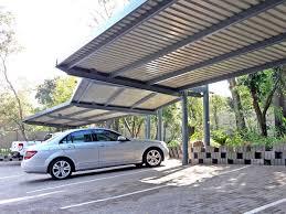 designer cantilever carport ecospan carports u0026 shadeports