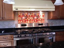 Decorative Tile Backsplash Kitchen Tile Ideas Italian Cuisine - Backsplash mural
