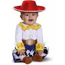 Born Halloween Costume Toy Story Jessie Deluxe Infant Halloween Costume Walmart
