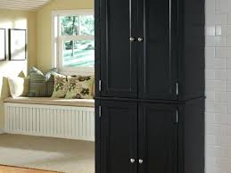 black kitchen storage cabinet kitchen long cabinet kitchen pantry livingurbanscape org
