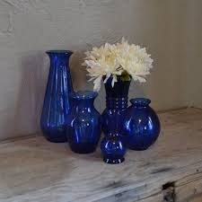 Blue Vases For Wedding 58 Best Cobalt Blue And Silver Wedding Images On Pinterest