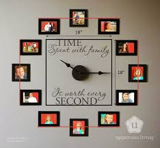 Wall Clock Design Best 25 Family Clock Ideas On Pinterest Picture Clock Picture