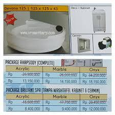 Cermin Rp sell bathtub corner devona 125 whirlpool from indonesia by vr