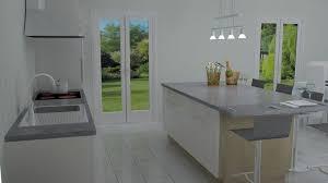 cuisine blanche avec ilot central ilot centrale de cuisine mu0027a demand de relooker la decoration