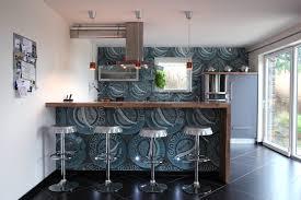 cuisine avec bar am icain cuisine americaine avec bar concernant vert intérieur