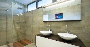 raysgem company blog bathroom mirror tv for every bathroom style