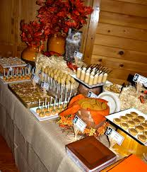 a party style fall festival dessert buffet 2010 have a pumpin all