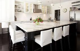 kitchen island chairs kitchen appealing island table ideas with white marble regard to