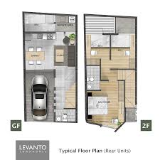 levanto townhomes house and lot for sale in taytay rizal