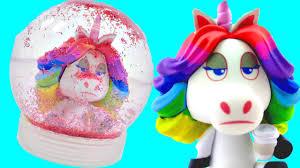 how to make rainbow unicorn snowglobe how to make fun diy crafts