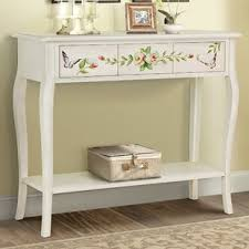 Painted Console Table Painted Console Tables Wayfair