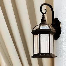 charlton home blue 1 light outdoor wall lantern reviews