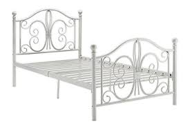 Girls White Twin Bed Amazon Com Dhp Bombay Metal Bed Frame Vintage Design And