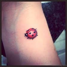 29 phenomenal ladybug tattoos on wrist