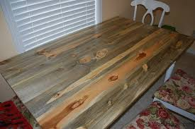 how to stain pine table antique rustic pine table top