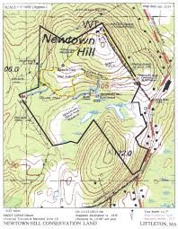 Magnetic Declination Map Newtown Hill U2013 Littleton Conservation Trust